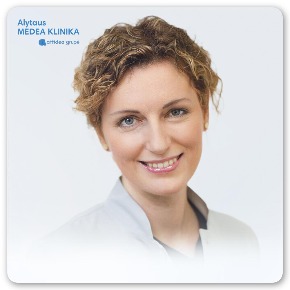 Gydytoja endokrinologė Miglė Francaitė Daugėlienė - JAU PAS MUS!